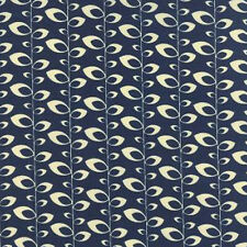 Moda Eric & Julie Comstock Social Club Leaves Stripe Fabric in Peacock 37095-11