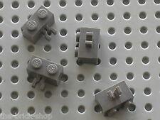 LEGO OldDkGray Bricks with Clip 30237 / Set 5986 7121 7184 4730 6098 4733 6091..
