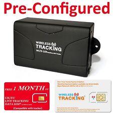 1 Month Free EU Data Genuine TK104 Tracker Car Vehicle Van Hidden GPS Tracker
