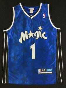 Orlando Magic Tracy McGrady #1 Basketball NBA Reebok Jersey Size44