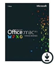 Microsoft MS Office for Mac Home and Business 2011 Key Vollversion 1-Mac Deutsch