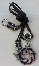 Regalo De Peltre Gótico Negro Cristal, Alchemy Inglaterra-Serafín De Oscuridad Collar