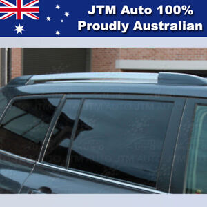 Silver Black Aluminum Roof Racks Roof Rails to suit TOYOTA Kluger  2007-2013
