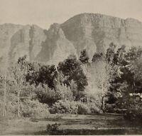 1899 Aufdruck Colonial South Afrika Tisch Berge Von Newlands