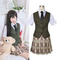 Citrus Shitorasu Mei Aihara Cosplay Costume School Uniform Complete Outfit Suit