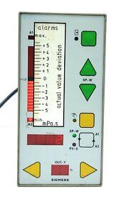 Siemens Alarm C73451-A3000-C10 AC220/240V Power Supply Control