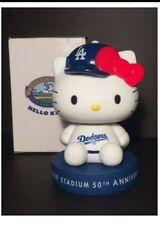 Hello Kitty Los Angeles Dodgers 50th Anniversary Bobblehead