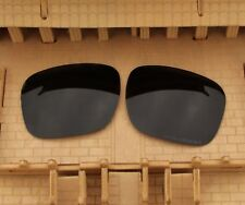 ACOMPATIBLE Stealth Black Polarized Lenses Replacement for-Oakley Holbrook