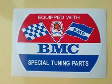 BMC Rosette  SPECIAL TUNING PARTS Classic Retro Decal Sticker 1 off 100mm