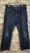 Jeff Banks Mems Size W 32 L 30 Straight Denim Jeans Trousers