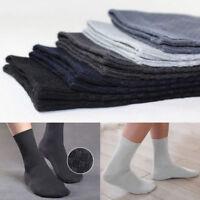 Men Ankle Socks Breathable Casual Business Bamboo Fiber Socks Anti-Bacterial Lot