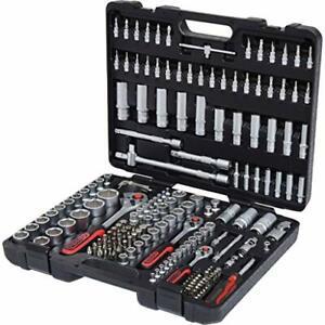 KS Tools Coffret de douille Mallette à Outils 1/4 3/8 1/2 - 179 pcs - Chrome ...