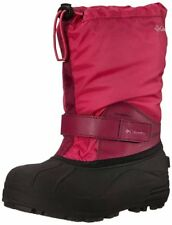 Columbia Snow Boots Size 12 Black Pink