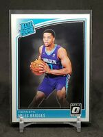 2018-19 Optic Miles Bridges RC, Rated Rookie Card, Charlotte Hornets