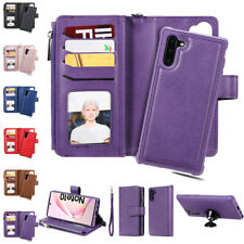 Zipper Leather Wallet Case Cover For Samsung Galaxy Note10 S20U 89 S10 9 8 Plus