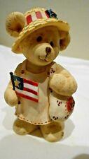 """"""" Bag of Goodies Bear"""" Sarah's Attic Bear Hugs"""