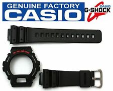 CASIO DW-6900 G-Shock Black BAND & BEZEL Combo DW-6600 DW-6600C DW-6900BD