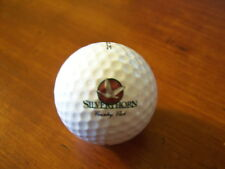 LOGO GOLF BALL-SILVER HORN COUNTRY CLUB. BIRD LOGO.
