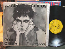 VIRGIN CIRCUS Comic opera kingdom minimal synth wave 1986 very rare OOP goth LP!