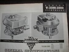 clinton parts list,clinton A-3100-1000,illustrated antique clinton engine