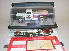 X'MAS 2000  FRANKLIN MINT CHRISTMAS TRUCK 1:24 LE 1950 GMC TRUCK & DIS[LAY