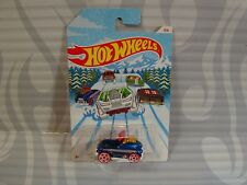 2019 HOT WHEELS  -  HOLIDAY HOT RODS = PEDAL DRIVER = BLUE