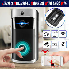 Door Bell WiFi Wireless IR Video Doorbell Talk Smart Intercom Security HD Camera