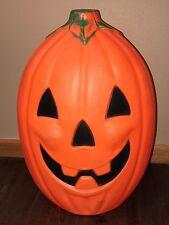 "Vintage Sun Hill 20"" Lighted Halloween Jack-O-Lantern Pumpkin Blow Mold"