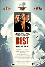 BEST OF THE BEST MOVIE POSTER Original 27x41 ERIC ROBERTS MARTIAL ARTS Film