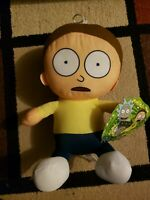 "Morty 10"" Plush - From Rick and Morty - Official License Toy Factory NWT"