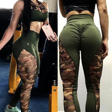 89d278105c53e6 Womens Ladies Butt Lift Yoga Pants Hip Push Up Leggings Fitness Workout  Stretch