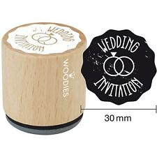 Woodies Wedding Invitation Beech Wood Stamp For Paper Cardboard Accessories