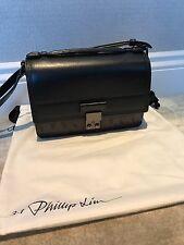 3.1 Phillip Lim Pashli Mini Messenger (Black Leather)