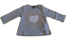 T-shirt Losan  Baby Maglietta  Manica Lunga Bimba Neonata Grigio 9 mesi (71 cm)
