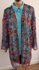Hand-wash Only Floral Plus Size Coats, Jackets & Vests for Women