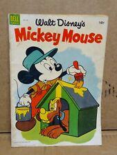 1954 COMIC BOOK NO.33  WALT DISNEY MICKEY MOUSE #B4
