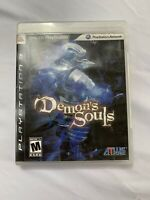 Demon's Souls (Sony PlayStation 3, 2009)- Tested And Working