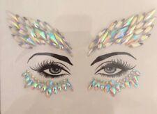 Adhesive Face Gems Rhinestone Temporary Tattoo Jewels Festival Party Body Glitte