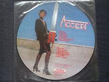 ACCEPT  Picture Vinyl LP UK 1985 Bocu Music Records/Metal Masters  -MINT- RAR