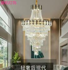 Modern Living room light villa Nordic simple LED crystal dining room chandelier