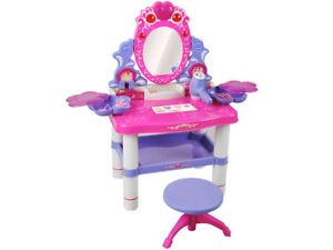 Frisiertisch Schminktisch Kindertisch Spiegel Schönheitsstudio Hocker 1399