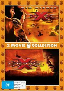 🆕️ XXx / xXx 2 The Next Level DVD Region 4