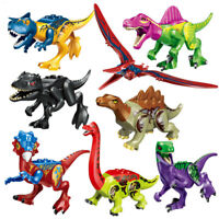Kids Baby Toys Dinosaurs The Jurassic Would Mini Figures Building Blocks Toys
