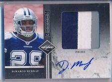 DEMARCO MURRAY - 2011 Limited Rookie Jumbo 3 Color Prime Patch AUTO /25 - Titans
