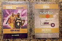 Kobe Bryant LA Lakers 1996 Limited Edition Rookie Card. GOAT. Only 2,000 Made