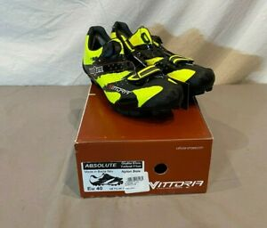 Vittoria Absolute Coiler System Mountain Bike Cycling Shoes US 7.5 EU 40 NEW