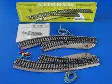 MARKLIN H0 - 5140 - Pair of Curved Switches - M Track - BOX / LN