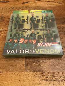 HASBRO - VALOR VS VENOM - INFANTRY DIVISION 6 PACK ARMY BUILDER NEW!