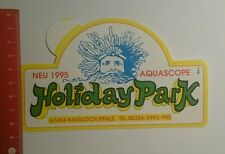 Aufkleber/Sticker: Holiday Park neu 1995 Aquascope Hassloch (1809168)