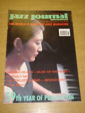 JAZZ JOURNAL INTERNATIONAL VOL 59 #11 2006 NOVEMBER MICHIKO OGAWA ARNOLD ROSS